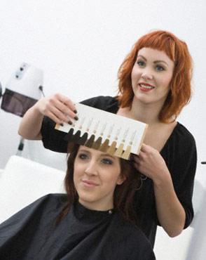 какой цвет волос выбрать тест с фото